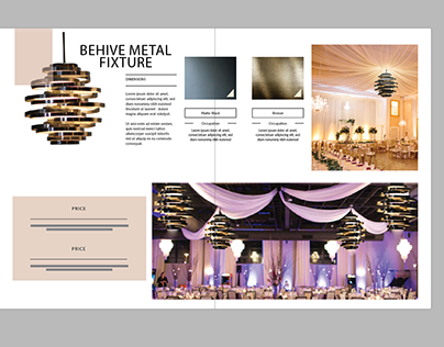 Promotional Booklet for Lighting Fixtures