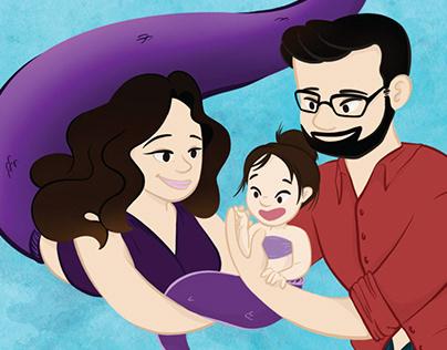 Mermaid Family