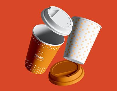 Five Dots -Restaurant- Logo