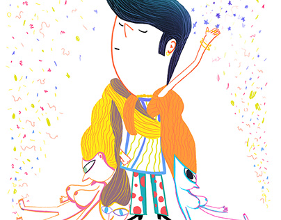Random Illustrations- Magazine