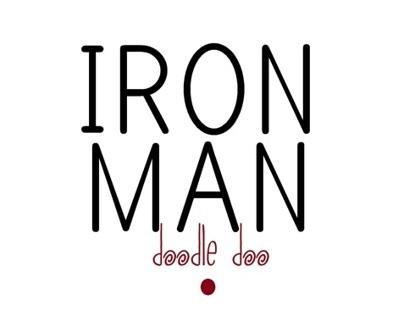Iron Man doodle doo