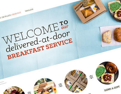 Breaking Fast Website and Email designs