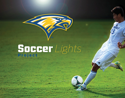 JBU Soccer Lights Project Post Card Package