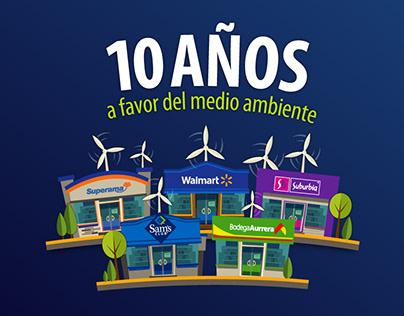 10 años de Liderazgo a favor del Medio Ambiente