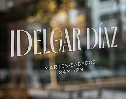Idelgar Díaz (wordmark)