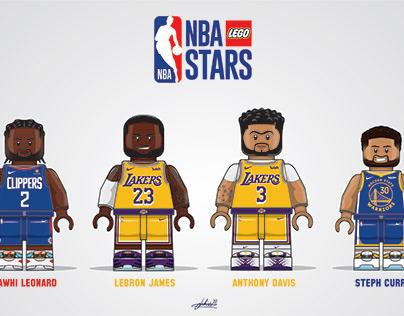 LEGO NBA: Superstar Duos #1