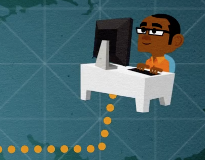 Promo Animation for 'Quiip' Social Management