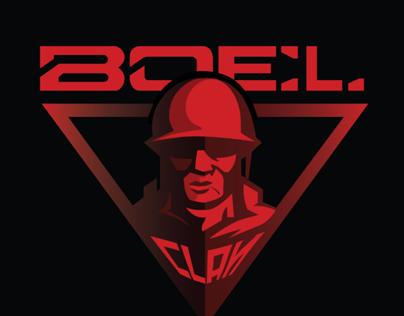 BOEL CLAN Logo design