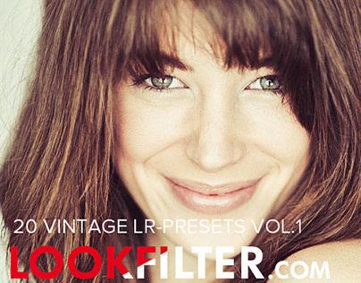 Vintage Lightroom Presets Vol.1 made by Lookfilter.com