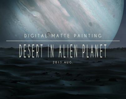 DMP: Desert in Alien Planet