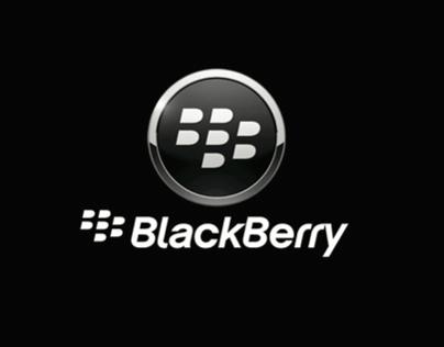 Stand de Promoção aos produtos BlackBerry