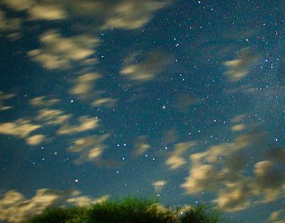 Sky in Namibia