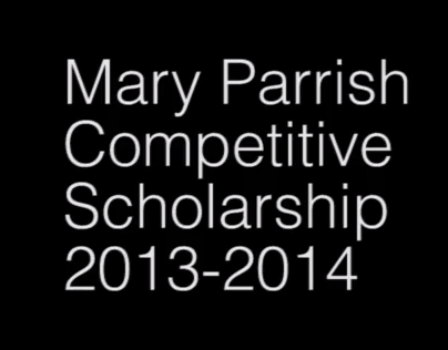 MICA Competitive Scholarship 2013-14