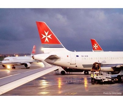'Gino Galea-Three decades of photography for Air Malta'