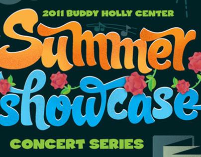 Buddy Holly Center Showcase Poster