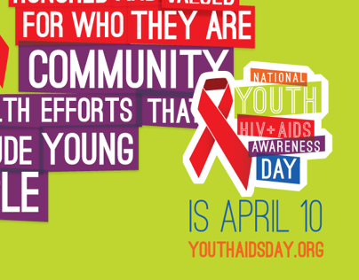 NYHAAD | National Youth HIV + AIDS Awareness Day