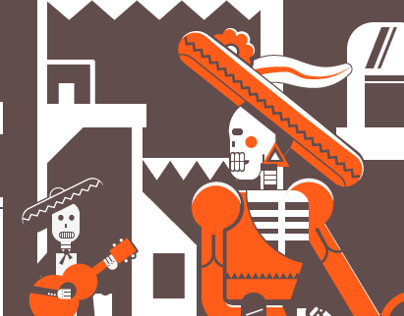Day of the Dead Vector Art