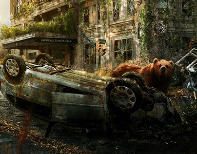 Vida entre ruinas