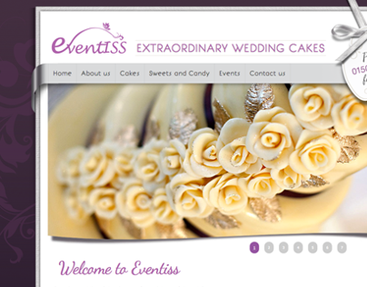 Eventiss - Extraordinary Wedding Cakes