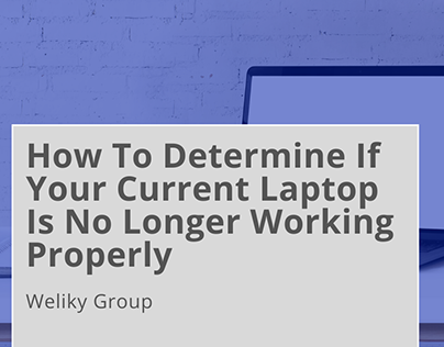 How To Determine If Your Laptop Is No Longer Working