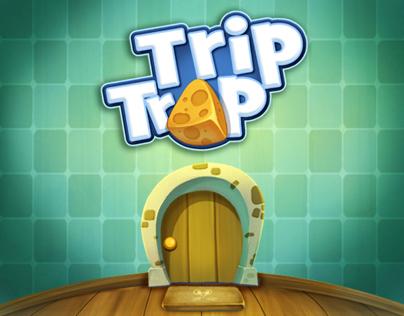 """TripTrap""  iphone/ipad game"