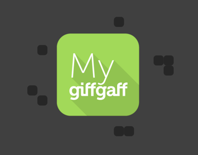 giffgaff Android Kitkat App Concept