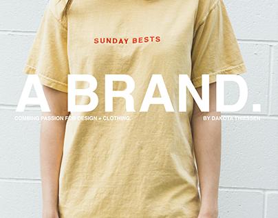 SUNDAY BESTS | My brand