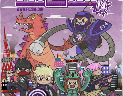 FicZone 2014 poster