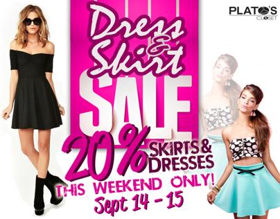 Dress & Skirt Sale