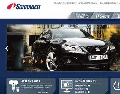 Schrader Brand Redesign