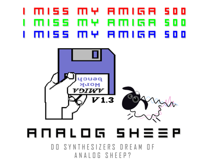 Analog Sheep - I Miss My Amiga 500 (Music Video)