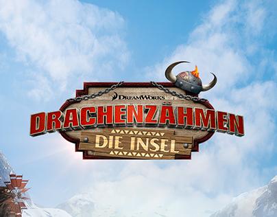 DreamWorks How To Train Your Dragon Island - Branding