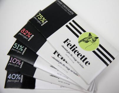 Felicette // Chocolate bars for the crazy cat ladies