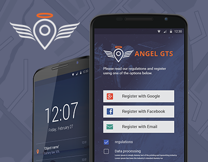 Angel GTS - branding, website, mobile app