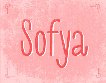 Sofya font