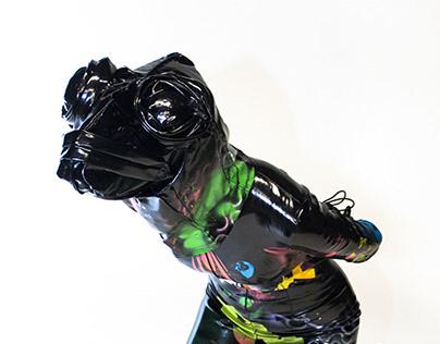 portfolio for fibers and costume pieces