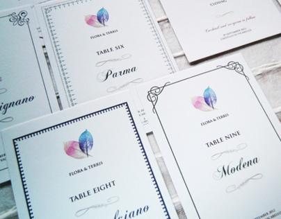 Wedding Design_F&T