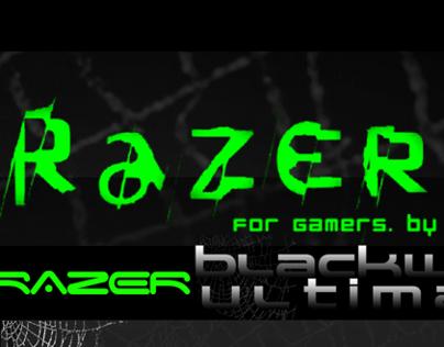 Razer Blackwidow Poster Ads