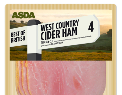 ASDA Best of British Meats Packaging Design
