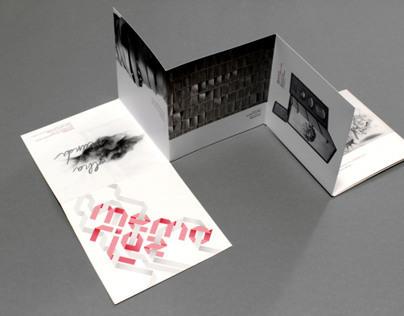 Memórias - Foldable Flyer