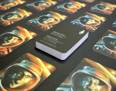 LMR in Space (business cards)