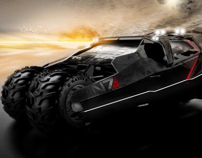 Mass Effect 2 Tumbler by syarawi