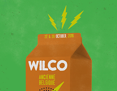 Wilco Fall EU 2016 Tour Posters