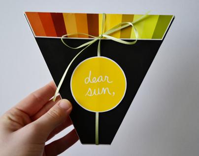 Dear Sun, Love Moon - Artist Book