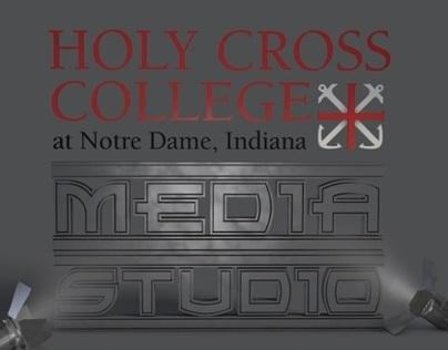 Holy Cross College Media Studio Logo