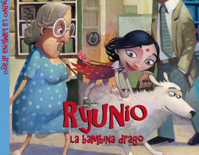 RYUNIO LA BAMBINA DRAGO di Roberta Calandra