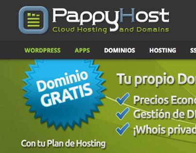 PappyHost Web Site