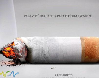 Dia Nacional do Combate ao Fumo - Renk Zanini