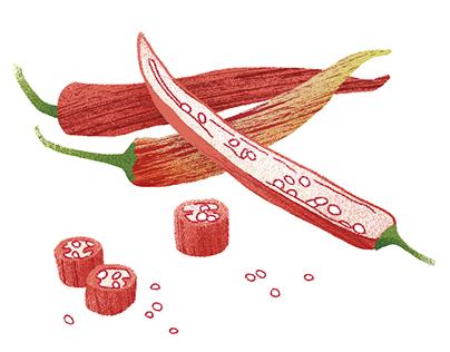 FREUNDIN - spices