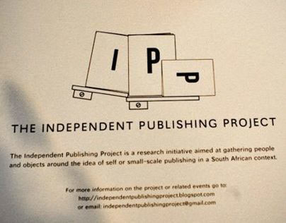 Independent publishing project